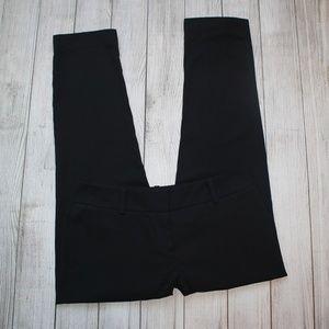 ANN TAYLOR LOFT Size 4P Black Dress Pants